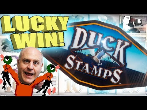 LUCKY WIN! 🦆2 HANDPAYS 🦆Duck Stamps Slot Machine | The Big Jackpot