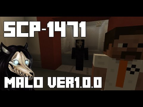 SCP-1471 Minecraft Containment Breach [MalO Ver1.0.0]