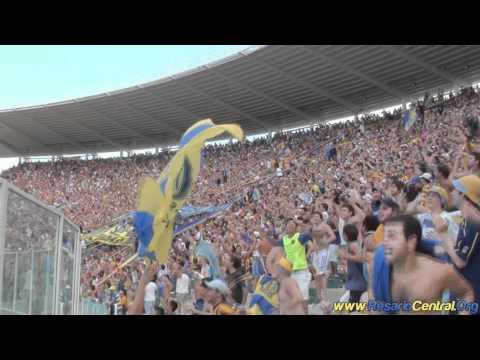 """Video - """"Yo quiero ver a los pechos que se vayan a la b"""" - 15.000 Guerreros en Cordoba - Los Guerreros - Rosario Central - Argentina"""