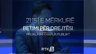 Promo - Betimi për Drejtësi - Prokurimi i hapur publik?