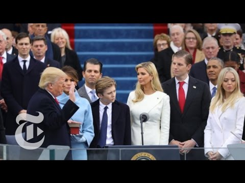 2017 Inauguration of Donald J. Trump (Full Coverage) | The New York Times (видео)