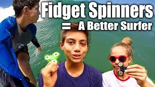 Yes, we are hopping on the Fidget Spinner bandwagon, but seriously we found a really cool use to make us better and safer surfers with this simple little trickFREE 5 Video Improve Your Surfing Course http://surfcoaches.com/Support Us On Patreon https://www.patreon.com/AtuaMusic Algorythimic https://soundcloud.com/algorythmiklive iSURFTRIBE Hats - Shirts - Tanks http://iSurftribe.comAtua's Channel https://www.youtube.com/channel/UCfn_qdZ1XMLRKIfMhexjooASUBSCRIBE! http://www.youtube.com/user/surfcoachesLET'S CONNECT!-- https://www.facebook.com/iSurfTribe-- https://instagram.com/iSurfTribe/-- https://twitter.com/isurftribe
