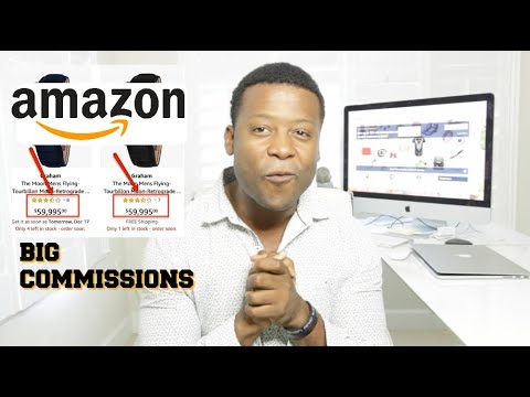 BIG AFFILIATE COMMISSION WITH AMAZON (How To)