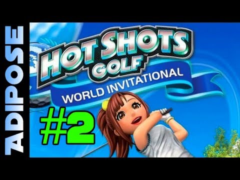 Hot Shots Golf Playthrough #2 The Shop + First Online Tournament! Everybodys Golf