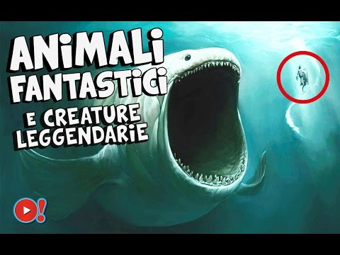 animali fantastici e creature leggendarie