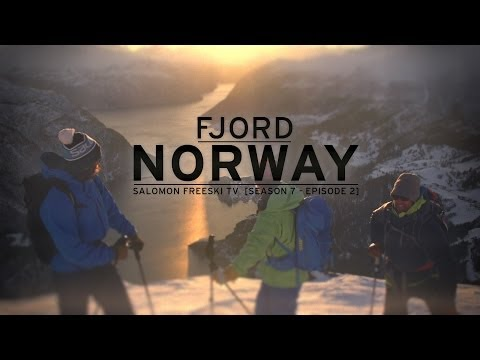 På randonnee i Norge / Salomon freeski team