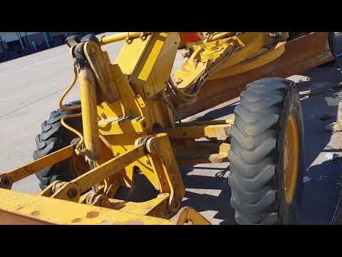 CATERPILLAR MOTONIVELADORAS 120H equipment video nqlZRORSQYI