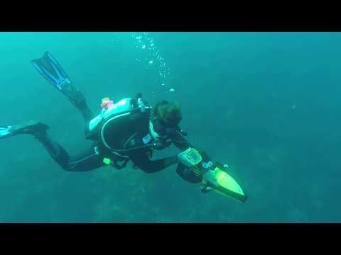 RedWAVE Underwater GPS Casino Point Underwater Park, Avalon, California, US