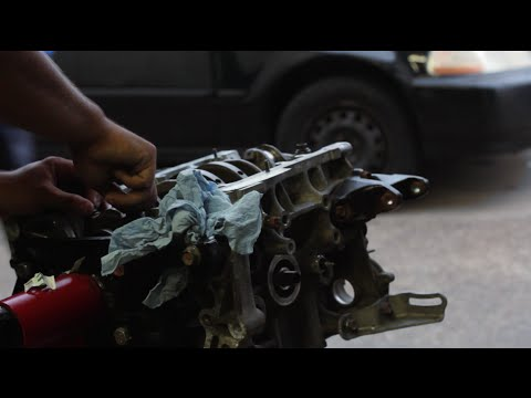 clearance - On this first episode of Zach's hatch's transformation, I headed over to where the new motor was being pieced together for the first time. Unfortunately we ran into a little mishap due to the...