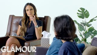 Nonton Kids Get Therapy from Jordana Brewster | Glamour Film Subtitle Indonesia Streaming Movie Download