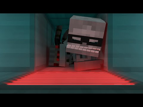 Monster Town - The Robbery (Minecraft Animation):  A town, full of monsters, some of them like to eat cakes and others like to rob banks, almost like real pros. Twitter! - http://twitter.com/DenotinFilmsFacebook! - http://www.facebook.com/DenotinOfficialWant more of