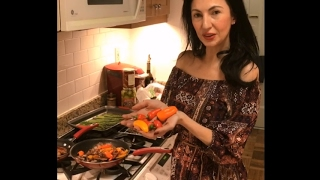 Living in Italian: Healthy Sausage & Peppers