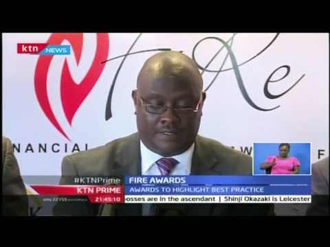 KTN Prime: Fire Awards to be held to highlight best practices in Kenyan businesses, 27/10/16
