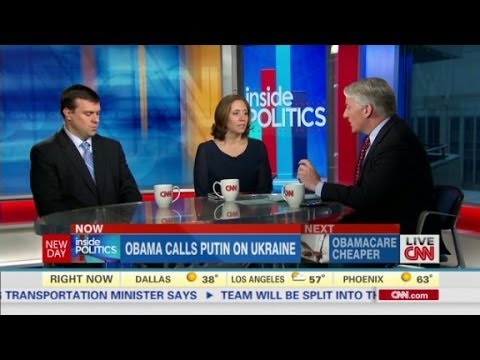 politics - John King, Julie Pace and Jonathan Martin discuss President Obama's recent conversation with Vladimir Putin on Ukraine.