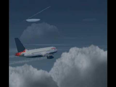 avvistati ufo dai piloti