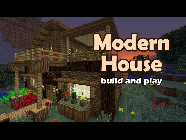 Minecraft modern house tutorial for Modern house music