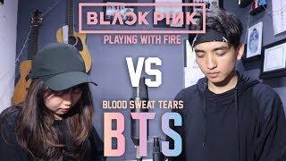 Video BTS - Blood Sweat & Tears (피땀눈물) X BLACKPINK - Playing With Fire (불장난) MASHUP MP3, 3GP, MP4, WEBM, AVI, FLV Agustus 2018