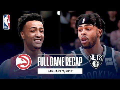 Video: Full Game Recap: Hawks vs Nets | John Collins Puts Up Career High