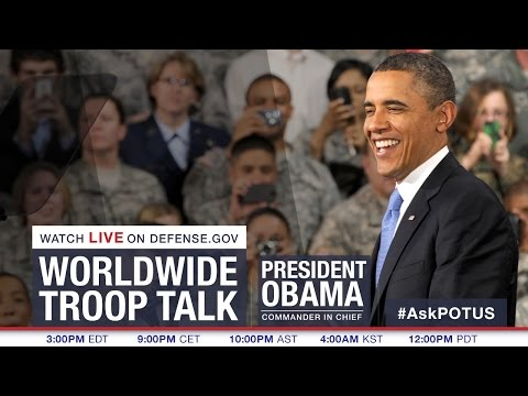 During a troop talk on national security Sept. 11, President Barack Obama discussed how AFRICOM-sponsored exercises help counter violent extremism in Africa.