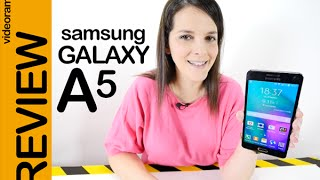 Samsung Galaxy A5 Review En Español