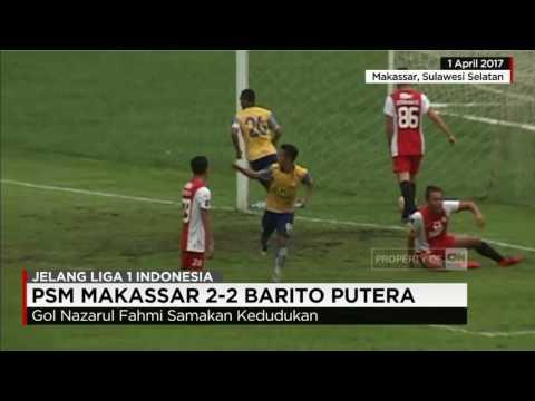 PSM Makassar 2-2 Barito Putera