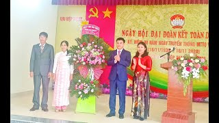 Chủ tịch UBND thành phố Nguyễn Mạnh Hà dự Ngày hội đại đoàn kết toàn dân tộc tại khu Hiệp Thanh, phường Phương Nam