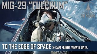 Video MIG-29 High Altitude - 8-Camera view + Flight Data MP3, 3GP, MP4, WEBM, AVI, FLV Agustus 2019