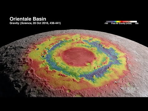 A Tour of the Moon in 4K High Definition
