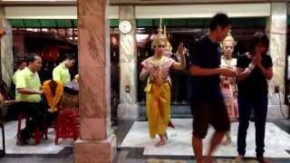 Bangkok - Four-faced Buddha At Erawan Temple (Oct 7 2013)