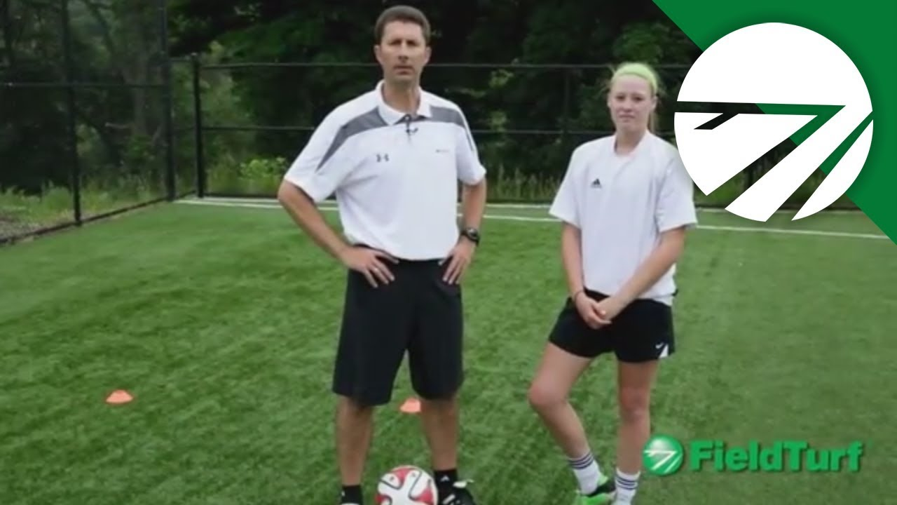 Two Touch Pass Soccer Training Drill with Mike Sorber