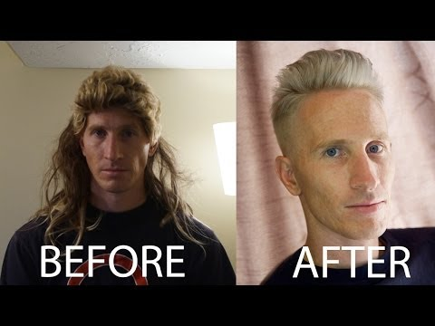 Adam Levine inspired Titanium Silver Hair Tutorial // Celebrity Hairstyles