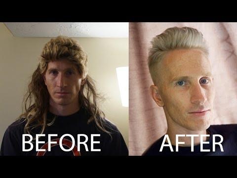 Adam Levine inspired Titanium Silver Hair Tutorial // Celebrity Hairstyles