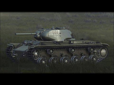 Симулятор Танка КВ-1 на ПК ! Танки Второй Мировой Войны. Стальная Ярость 1942