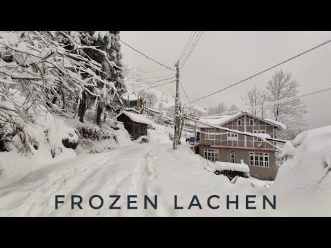 SNOWFALL IN LACHEN 2020 || GANGTOK TO LACHEN || NORTH SIKKIM
