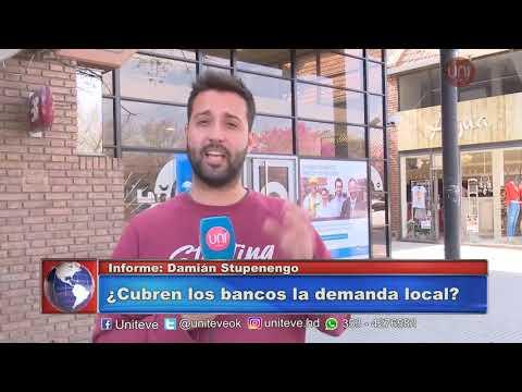 ¿Cuántos bancos hay en Villa María?