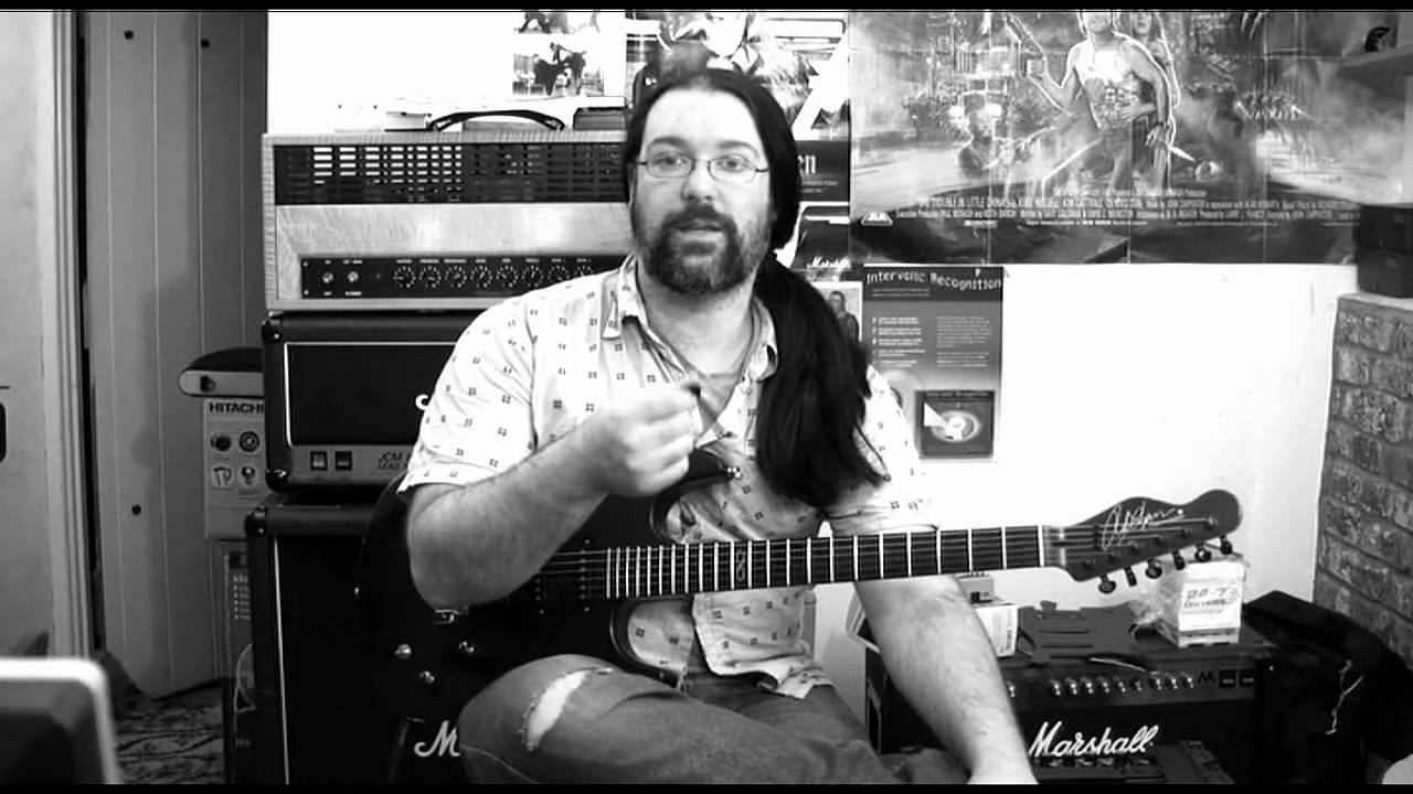 Metal Rhythm Guitar Lesson (beginner to intermediates)