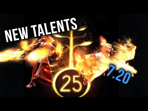 Dota 2 Big New Talent Changes - MOST OP & IMBA Talents - Patch 7.20