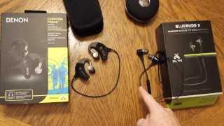 Video JayBird Bluebuds X vs Denon Exercise Freak wireless in-ear headphones MP3, 3GP, MP4, WEBM, AVI, FLV Juli 2018