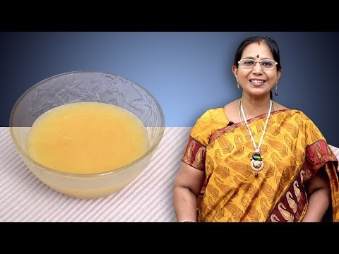 Dhal Soup | Mallika Badrinath Indian Recipes | Baby Food