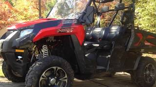 3. Overview 2017 Arctic Cat prowler 500 HDX XT