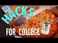LIFE HACKS for Lazy College Students!