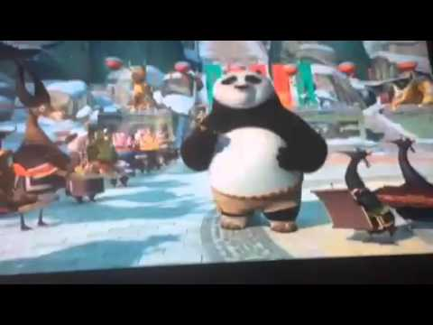 Kung fu panda holiday funniest scene