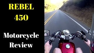 10. Honda Rebel 450 Review