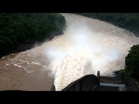 Barragem/ Hidrelétrica-de itaúba, Pinhal Grande RS