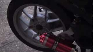 9. BROKEN EXHAUST COMPARE/REPAIR - Aprilia Sport City One 125
