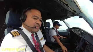 Video Airbus 330 Cockpit DUAL view Takeoff-Landing Kuala Lumpur to Jeddah (with ATC subs) MP3, 3GP, MP4, WEBM, AVI, FLV Desember 2018