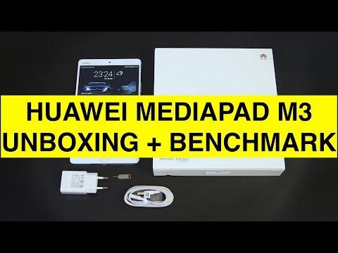 Huawei Mediapad M3 unboxing e Benchmark