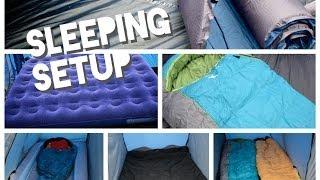 Family Camping Sleeping Tips