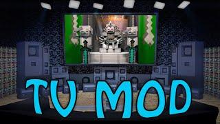 Minecraft   TV MOD Showcase! (COMPUTER MOD, TV MOD, FURNITURE MOD)