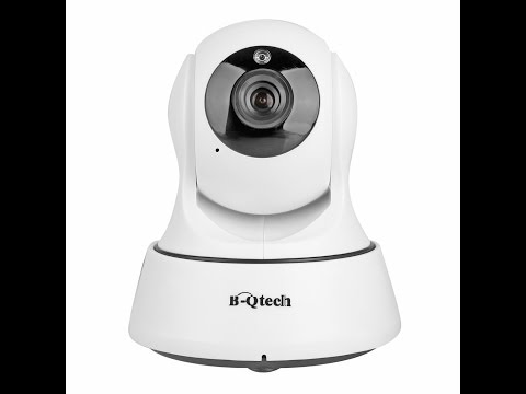 Review: B-Qtech 720P HD Wireless WiFi Pan/Tilt/Digital Zoom IP Security Camera, Day& Night Vision